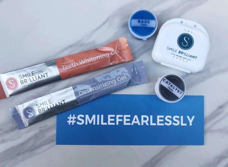 Our Smile Brilliant Home Teeth Whitening Experience Plus a Giveaway