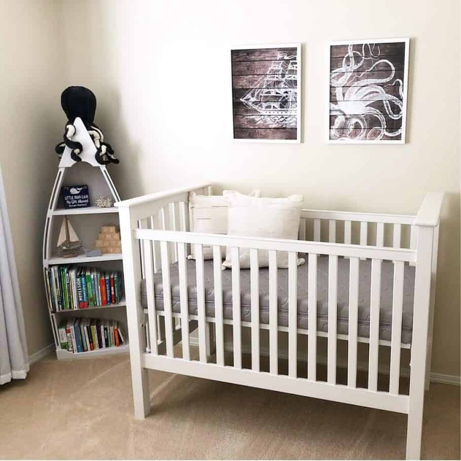 Nautical Themed Nursery For Our Baby Boy