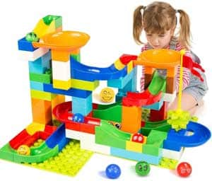 Marble run for toddlers