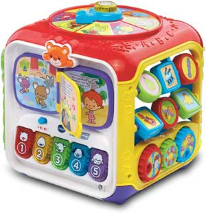 musical activity cube