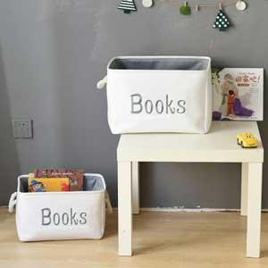 book storage basket