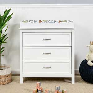 best changing table for small space