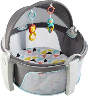 baby dome travel bed
